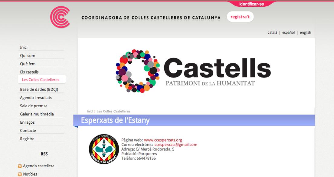 Imatge de la web de la CCCC