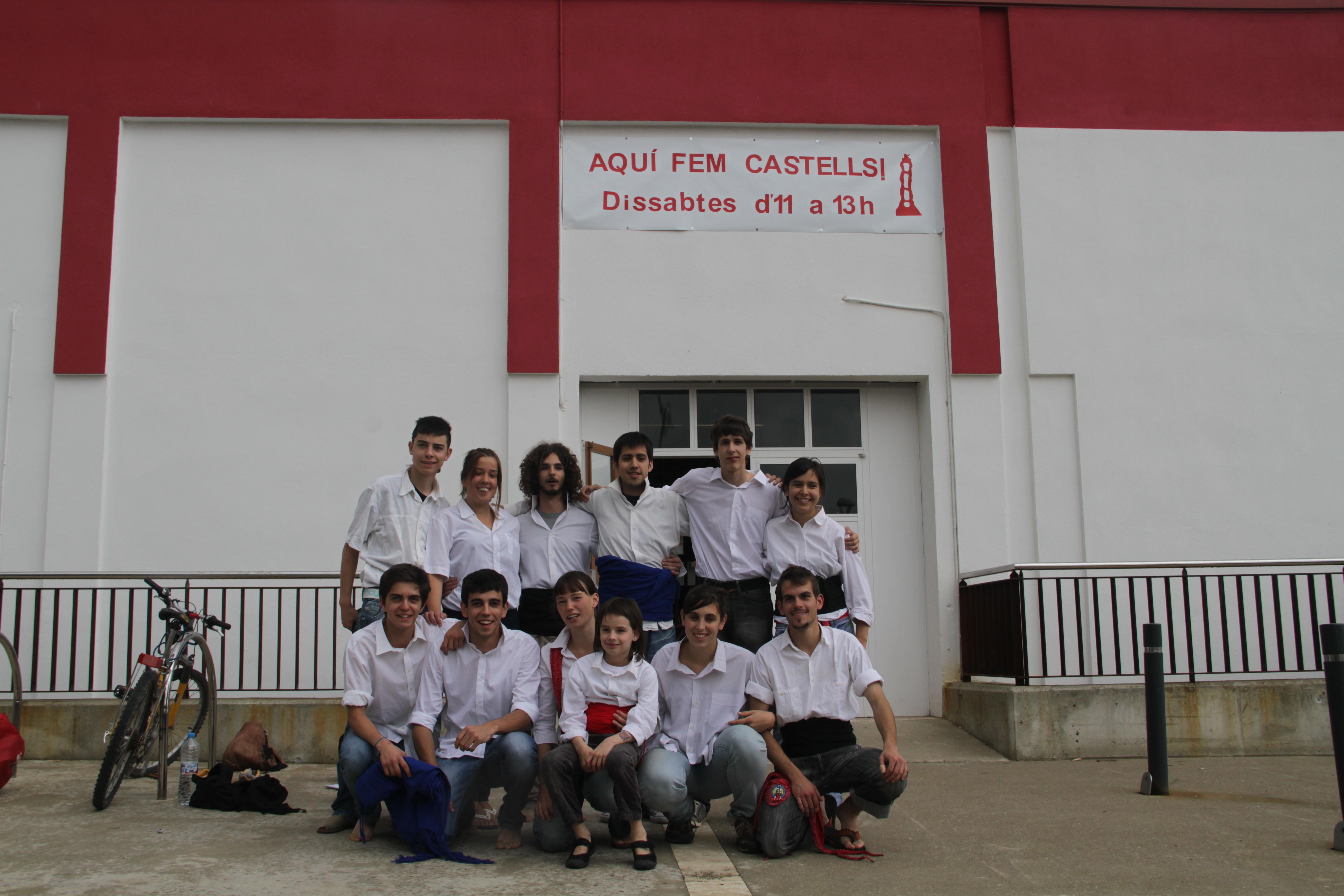 Primera foto de grup (Maig del 2012)