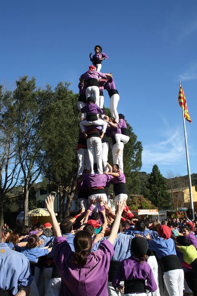 3d7a colla castellera de Figueres