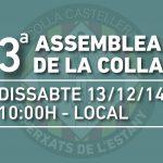 3a Assemblea General de la Colla