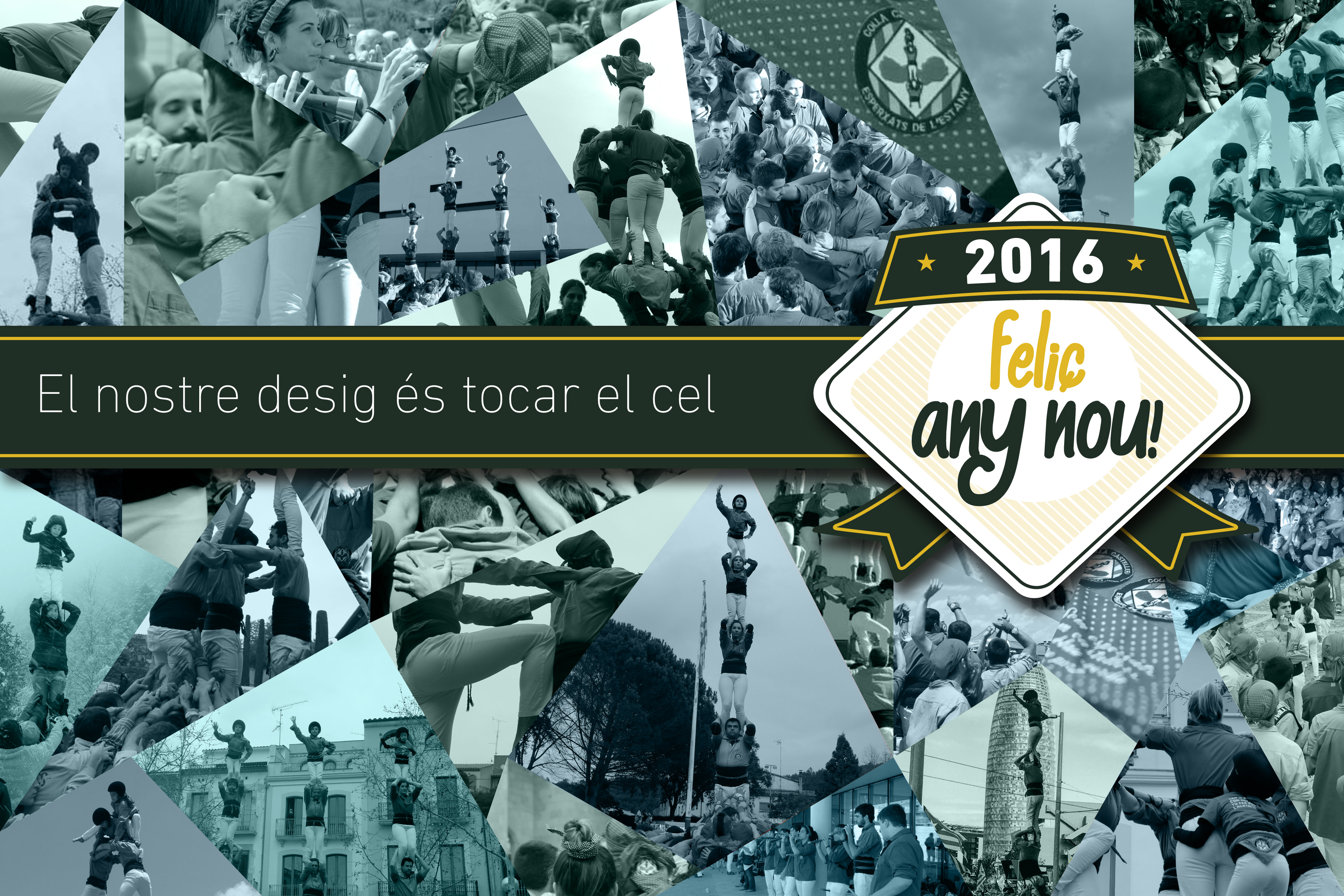 FELIÇ ANY NOU!  |  2016