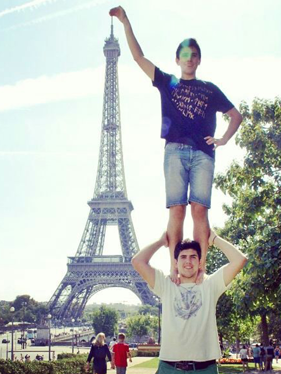 En Quico i en Guillem des de París