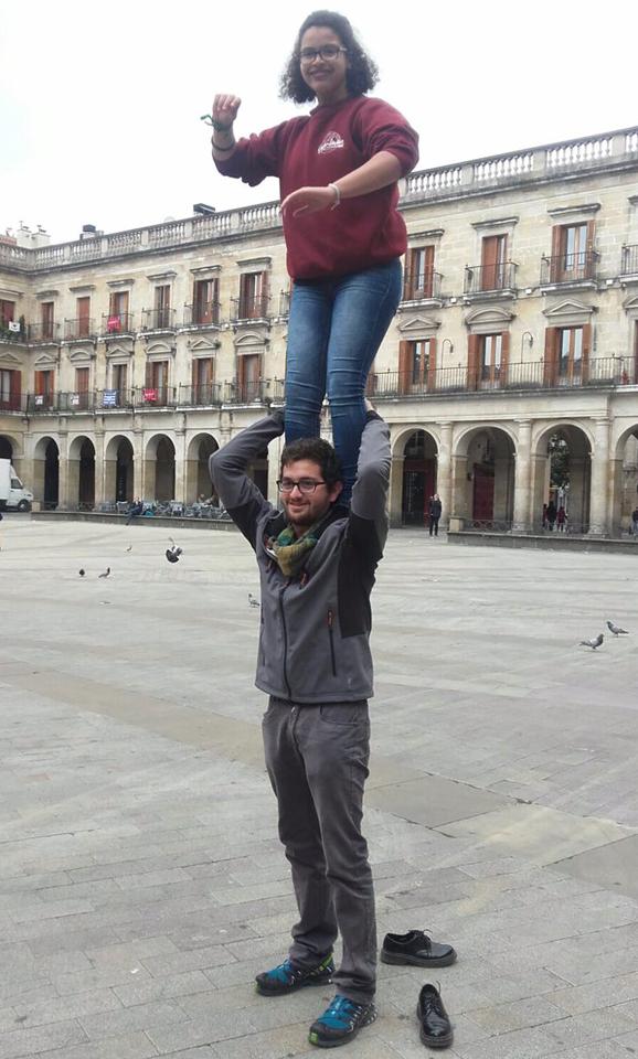 La Xuxe i en Nau des de Vitoria-Gasteiz
